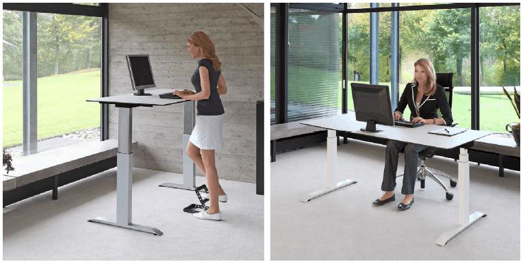 Steh-Sitzpulte von officeplus