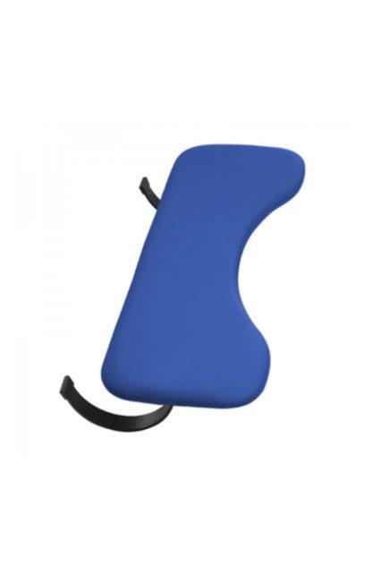 ergonomische Armauflage blau‣ solergo.ch
