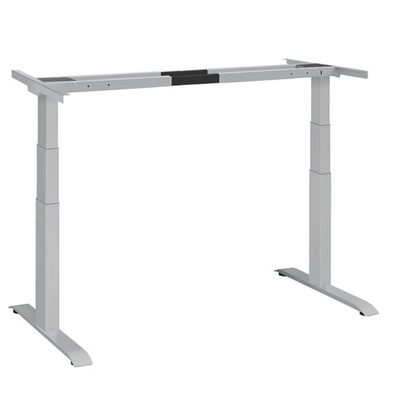 elektrisch höhenverstellbares Tischgestell Ergon Master silber