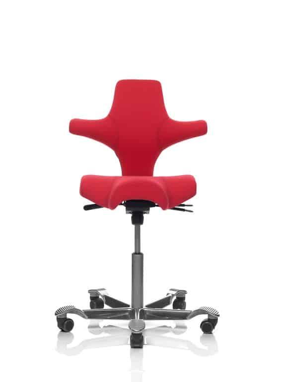 HAG Capisco Stuhl besteht zu 50% aus Recyclingmaterial