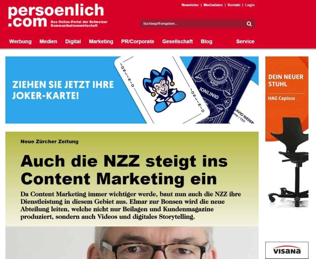 solergo.ch auf persönlich.com