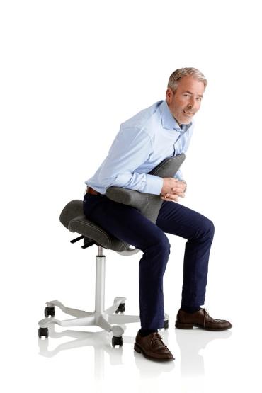HAG Capisco Sitzpositionen