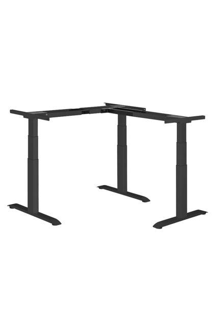 ergon Master Eck-Tisch Gestell schwarz| solergo.ch