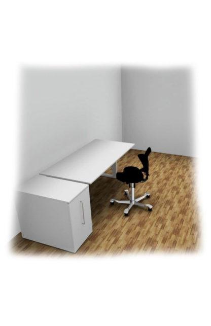 Bürotisch Bürostuhl Stauraum Start-Up - HomeOffice‣ solergo.ch