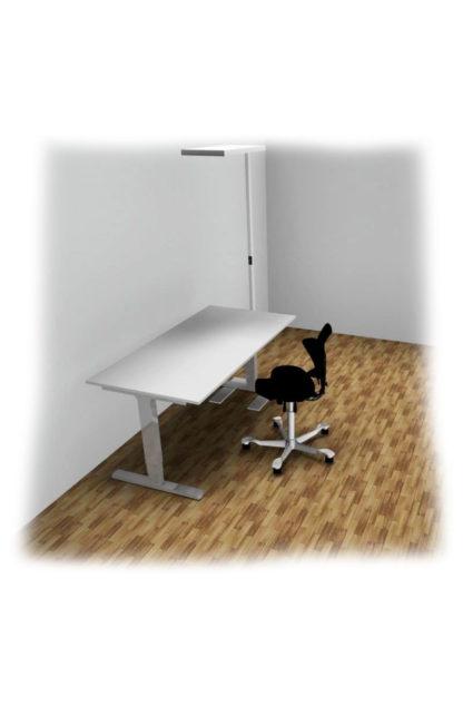 Bürotisch Bürostuhl Stehleuchte Start-Up - HomeOffice‣ solergo.ch