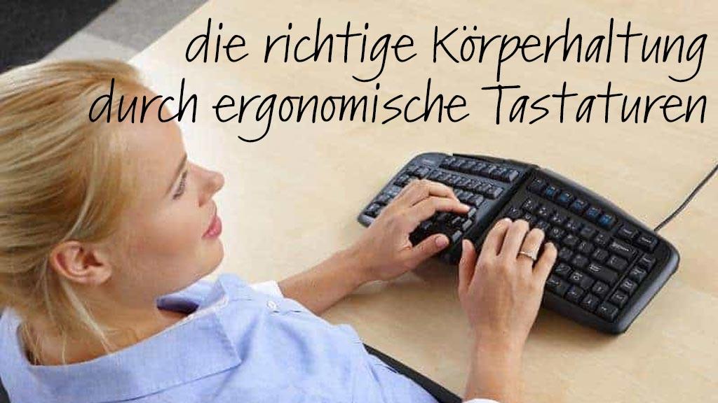ergonomische Tastaturen| solergo.ch