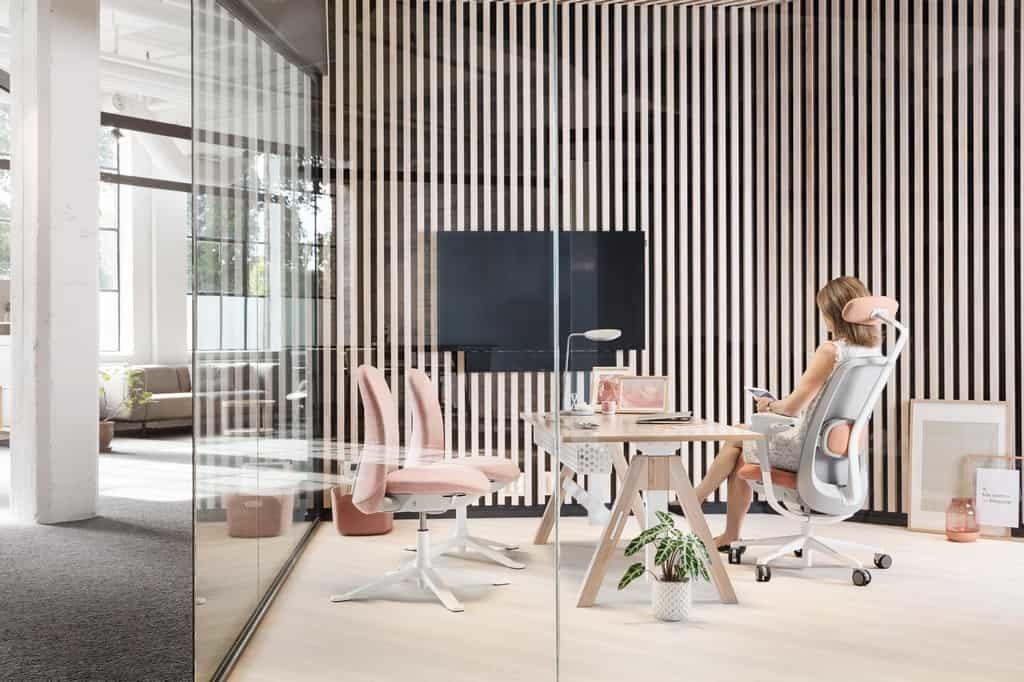 skandinavisches Bürodesign HAG SoFi mesh