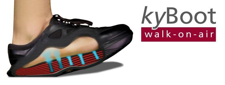 KyBoot aktives Laufen wie auf Wolken von Kybun