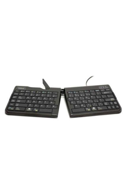 Goldtouch Travel GO2 Tastatur – QWERTZ Layout| solergo.ch