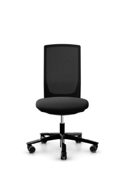 HAG Futu 1100s Bürostuhl mit Netzrücken schwarz