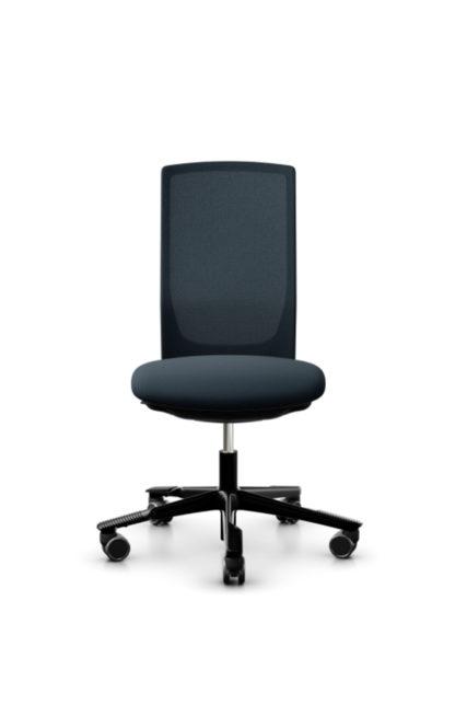 HAG Futu 1100s Bürostuhl mit Netzrücken dunkelblau
