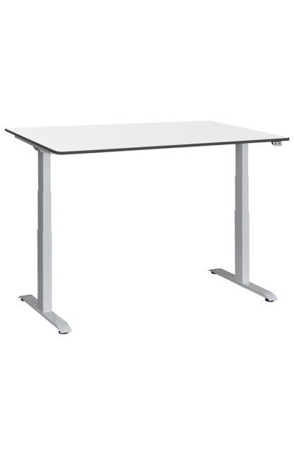ergon object Tischgestell silber mit Tischplatte