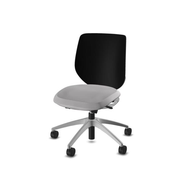 giroflex 313 Bürodrehstuhl hellgrau-schwarz