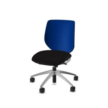 giroflex 313 Bürodrehstuhl schwarz-königsblau