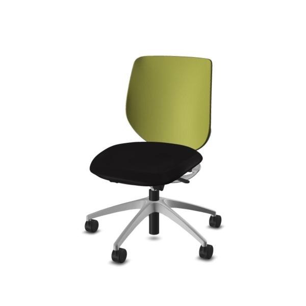 giroflex 313 Bürodrehstuhl schwarz-limettengrün