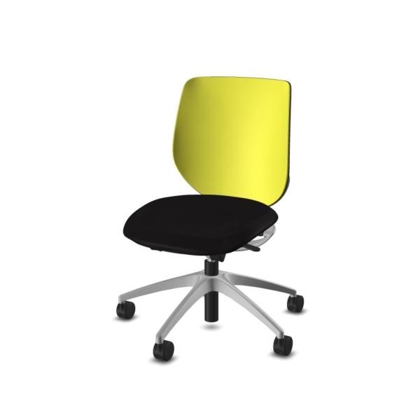 giroflex 313 Bürodrehstuhl schwarz-strohgelb
