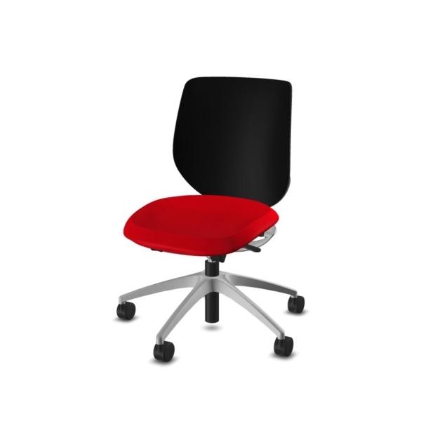 giroflex 313 Bürodrehstuhl weinrot-schwarz