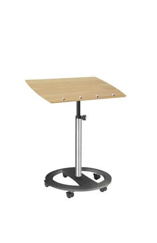 Steh-Sitzpult rolls drive hochglanz Buche