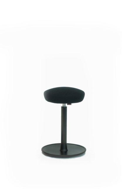 Activity Sitz-Stehhocker schwarz| solergo.ch