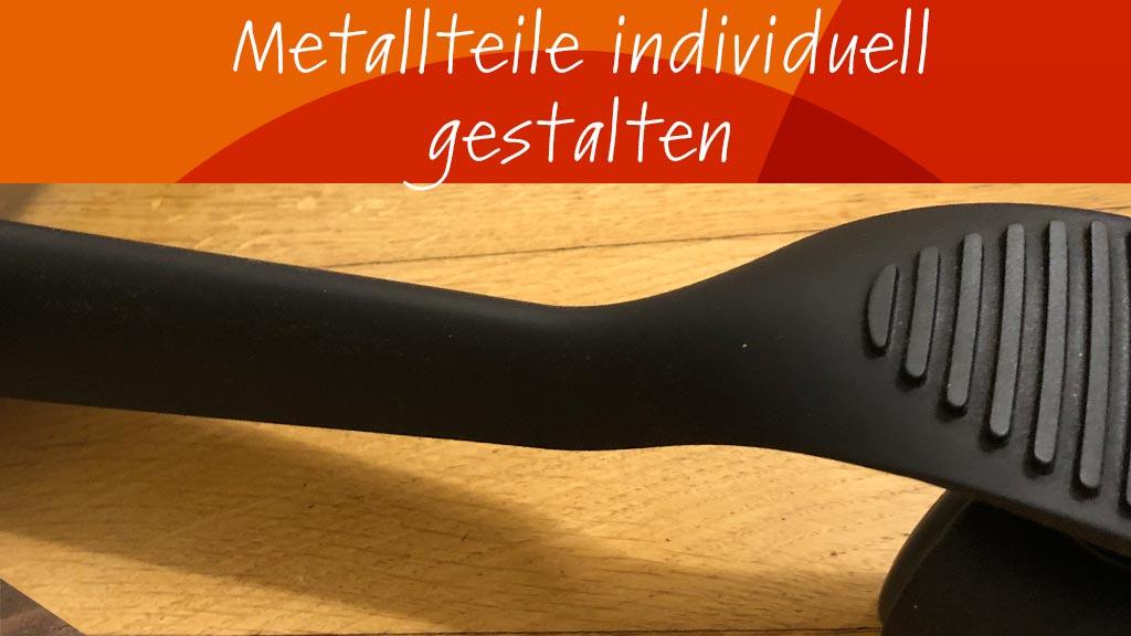 Metallteile matt schwarz lackieren‣ solergo.ch
